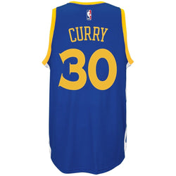 ADIDAS GOLDEN STATE WARRIORS NBA STEPHEN CURRY SWINGMAN JERSEY BLUE