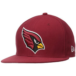 NEW ERA ARIZONA CARDINALS 59FIFTY NFL ON FIELD CARDINAL RED FITTED CAP