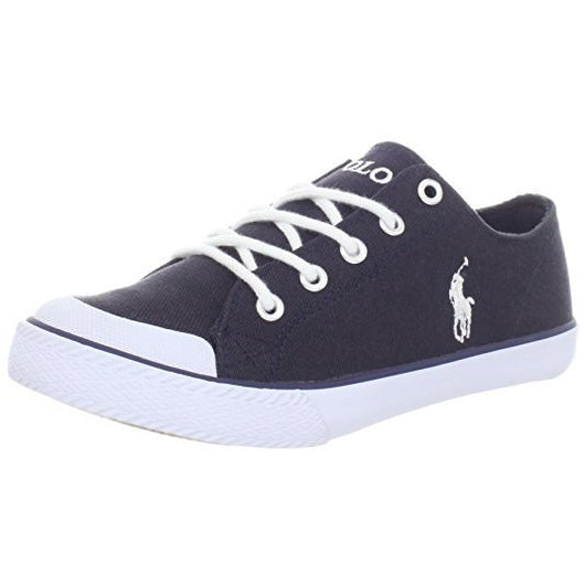 POLO RALPH LAUREN CHANDLER (BIG KID) SNEAKER NAVY