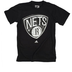 ADIDAS M BROOKLYN NETS NBA GO TO TEE BLACK