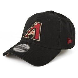 NEW ERA ARIZONA DIAMONDBACKS 9TWENTY MLB CORE CLASSIC BASEBALL CAP BLACK