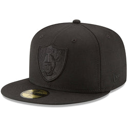 NEW ERA OAKLAND RAIDERS 59FIFTY NFL FITTED CAP BLACK