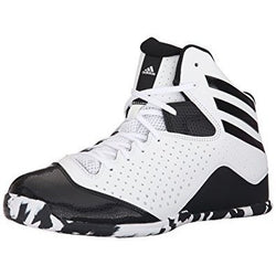 ADIDAS M PERFORMANCE NXT LVL SPD 2 BASKETBALL SHOES WHITE/BLACK