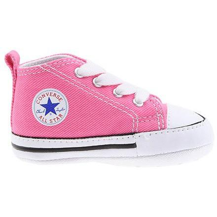 CONVERSE KIDS CHUCK TAYLOR FIRST STAR CORE CRIB PINK