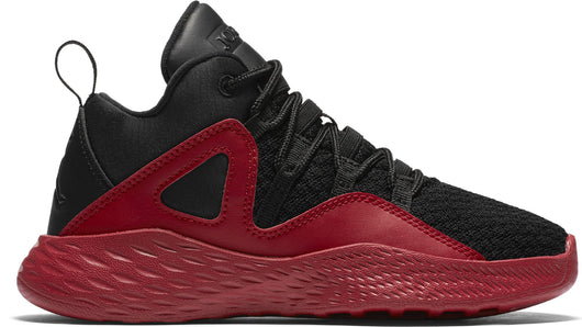 NIKE (LITTLE KID) JORDAN FORMULA 23 BLACK/BLACK/GYM RED