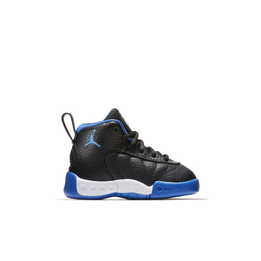 abbbbfd4bb483 NIKE TODDLER JORDAN JUMPMAN PRO BASKETBALL SHOES BLACK VARSITY  ROYAL METALLIC SILVER
