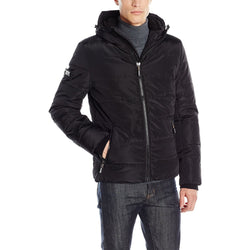 SUPERDRY M SPORTS PUFFER JACKET BLACK