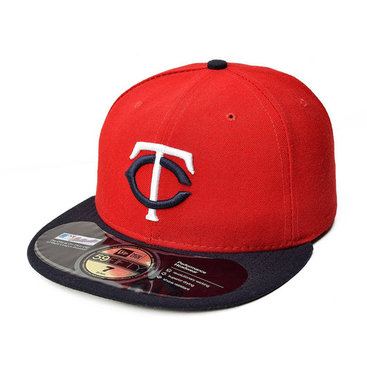 b8396c13d0e NEW ERA MINNESOTA TWINS 59FIFTY MLB AUTHENTIC COLLECTION ON FIELD GAME –  Concrete Peak
