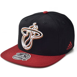 ADIDAS MIAMI HEAT NBA FINALS MULTI TEAM COLOR ADJUSTABLE FIT SNAPBACK