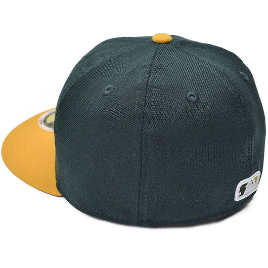 huge selection of 418e4 0f519 ... NEW ERA OAKLAND ATHLETICS 59FIFTY MLB AUTHENTIC COLLECTION ON FIELD  GAME FITTED CAP YOUTH SIZE