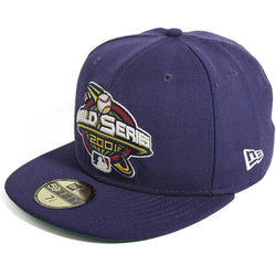 NEW ERA ARIZONA DIAMONDBACKS 59FIFTY MLB 2001 WORLD SERIES FITTED CAP