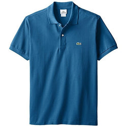 LACOSTE CLASSIC FIT SHORT SLEEVE PIQUE POLO SHIRT OFFICER