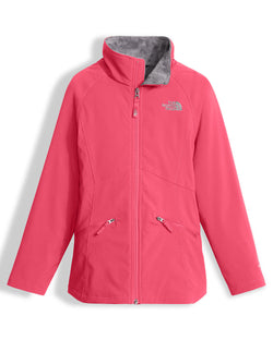THE NORTH FACE G MOSSBUD SOFT SHELL JACKET HONEYSUCKLE PINK
