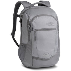 THE NORTH FACE PIVOTER BACKPACK MID GREY DARK HEATHER/ZINC GREY