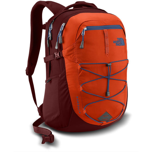 THE NORTH FACE BOREALIS BACKPACK TIBETAN ORANGE/SEQUOIA RED