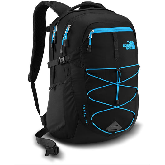 THE NORTH FACE BOREALIS BACKPACK TNF BLACK/HYPER BLUE