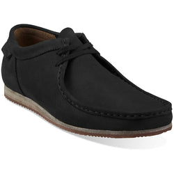 CLARKS M ORIGINALS WALLABEE RUN OXFORD BLACK