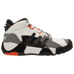 ADIDAS ORIGINALS STREET BALL II M BASKETBALL SHOES WHITE/BLACK/LEAD