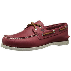SPERRY M TOP-SIDER A/O SARAPE BOAT SHOE RED