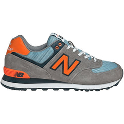 NEW BALANCE M 574 SHOES GREY/SKY