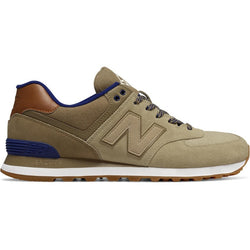 NEW BALANCE M 574 COLLEGIATE SHOES TAN