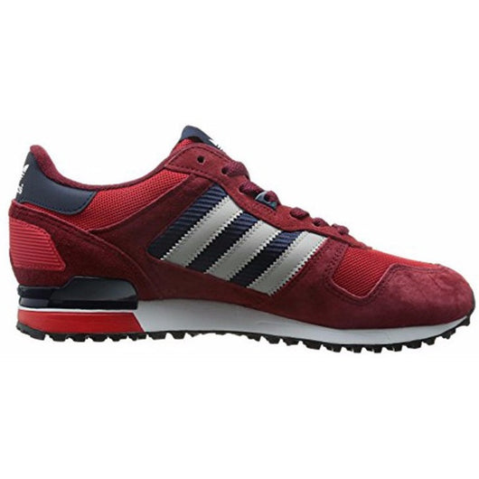 ADIDAS ORIGINALS ZX 700 COLLEGIATE BURGUNDY/MGH SOLID GREY/SCARLET