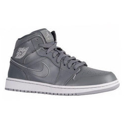 NIKE AIR JORDAN 1 MID M COOL GREY/WHITE/WOLF GREY
