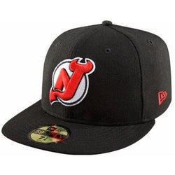 NEW ERA NEW JERSEY DEVILS 59FIFTY NHL FITTED CAP
