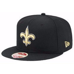 NEW ERA NEW ORLEANS 59FIFTY NFL SAINTS ON FIELD GAME FITTED CAP