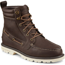 SPERRY M TOP-SIDER A/O LUG II WEATHERPROOF BOOT DARK BROWN