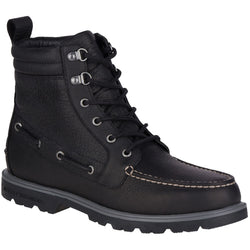 SPERRY M TOP-SIDER A/O LUG II WEATHERPROOF BOOT BLACK