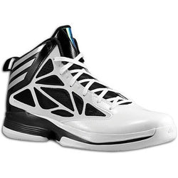 ADIDAS M CRAZY FAST BASKETBALL SHOES WHITE/BLACK