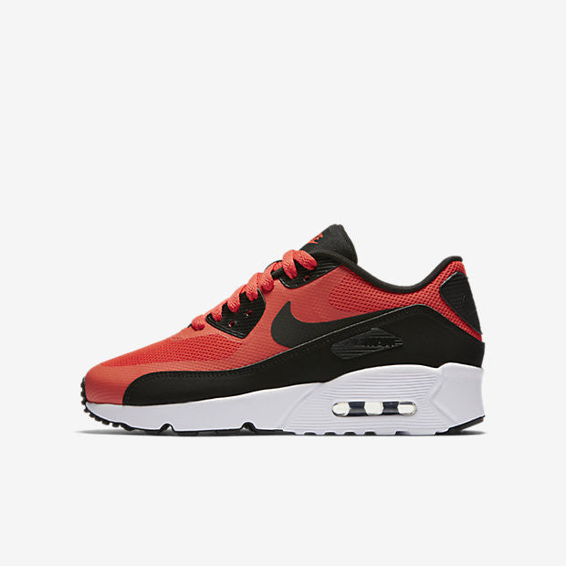 super popular 14a40 f2068 NIKE (BIG KID) AIR MAX 90 ULTRA ESS 2.0 MAX ORANGE BLACK WHITE – Concrete  Peak