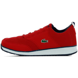 LACOSTE (BIG KID) L.IGHT 116 SNEAKER RED