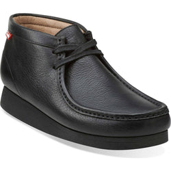 CLARKS M STINSON HI MOC TOE BOOT BLACK