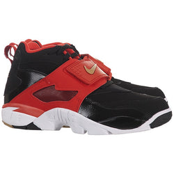 NIKE AIR DIAMOND TURF M BLACK/METALLIC GOLD/GMM ORANGE