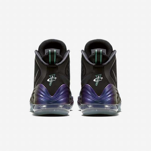 on sale 7487b 74f6e ... NIKE AIR PENNY V (BIG KID) BLACK ATOMIC TEAL