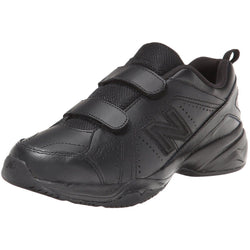 NEW BALANCE (LITTLE KID) HOOK AND LOOP UNIFORM SHOES BLACK
