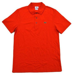 LACOSTE CLASSIC FIT SHORT SLEEVE PIQUE POLO SHIRT ETNA RED