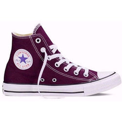 CONVERSE CHUCK TAYLOR ALL STAR ADULT HIGH TOP BLACK CHERRY