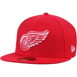 NEW ERA DETROIT RED WINGS NHL 59FIFTY FITTED CAP RED
