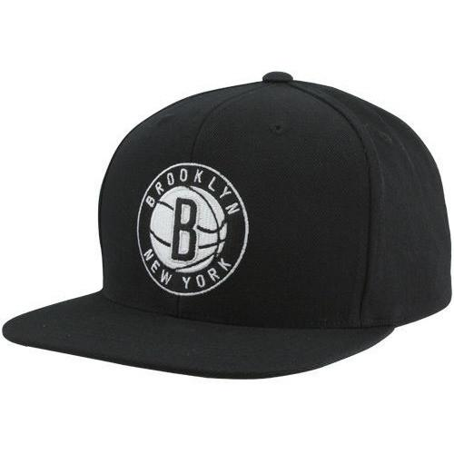 NEW ERA BROOKLYN NETS 59FIFTY NBA FITTED CAP BLACK