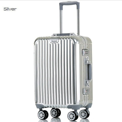 "20""24"" 100% Aluminum Suitcase with TSA Lock"