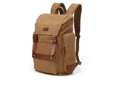 Vintage backpack for laptops and travel