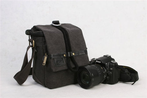 DSLR camera cross bag  for Nikon Canon 500D 550D 600D and Similar