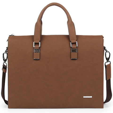 Sxllns Briefcases Mustard Brown