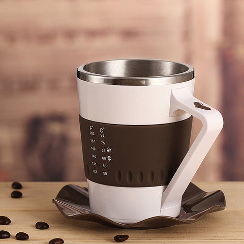 Smart Mug with LED Temperature Display