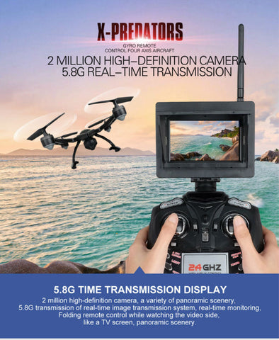 JXD 510G 6-Axis Quadcopter Drone