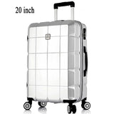Square Textile Travel Luggage