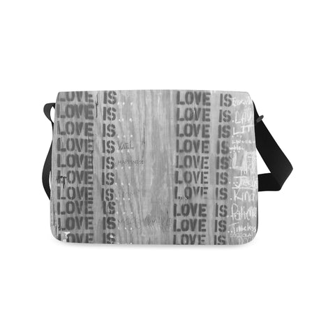 What is Love? - Messenger Bag